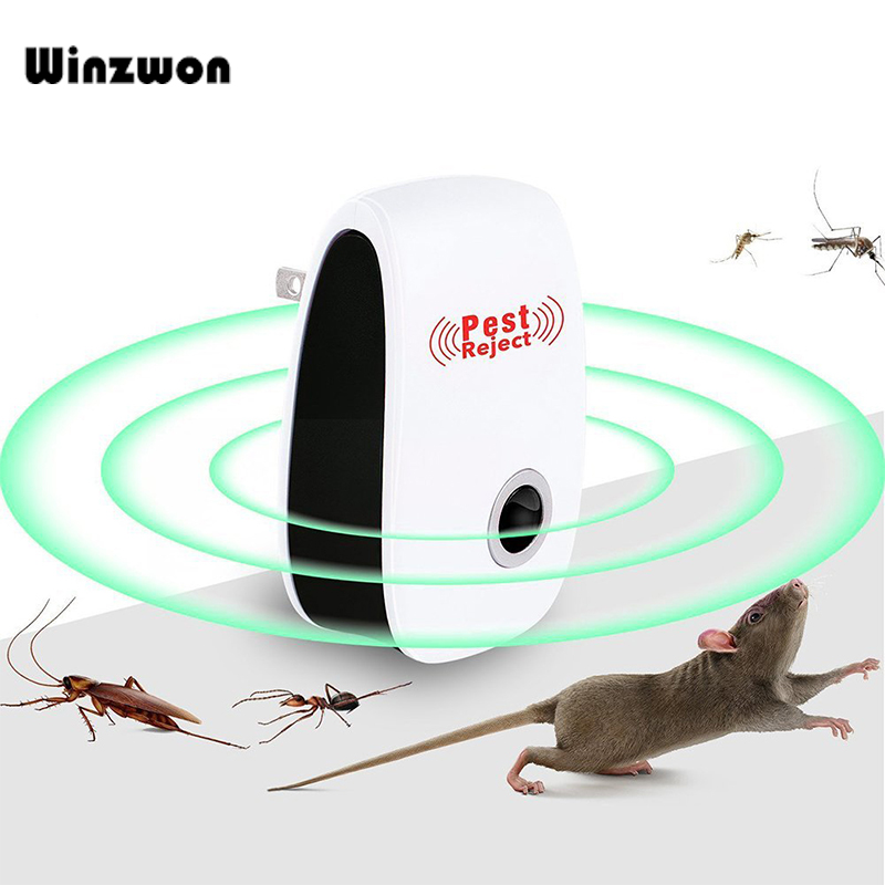 Ultrasonic Pest Repeller Electronic Insect Anti Mosquito Killer Pest Reject Mouse Rat Repellent Bug Zapper Pest Control For Home