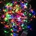 20 М 200 LED Строка Сказочных Огней Christmas Xmas Гарленд украшения Свадебная вечеринка Украшения Красочный WarmWhite Белый