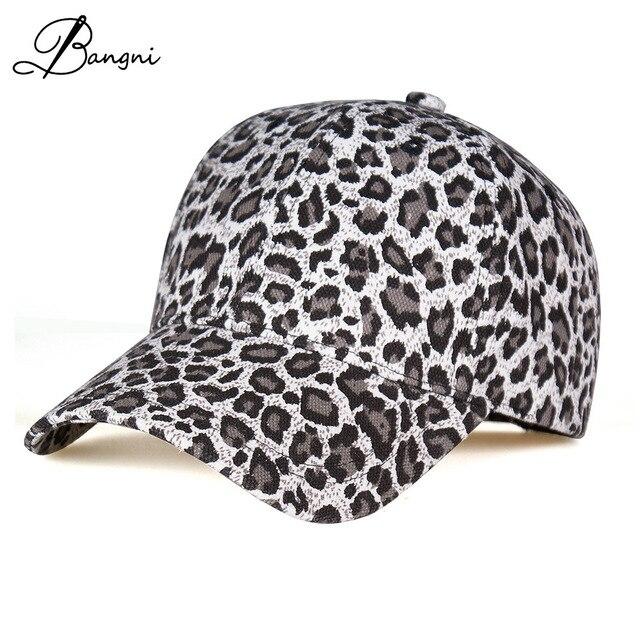 2017 Fashion Leopard Print Baseball Cap for women Men Brand Hats Outdoor  Snapbacks Gorras Casquette Bone Chapeu Female Dad hat b27b9019c3c