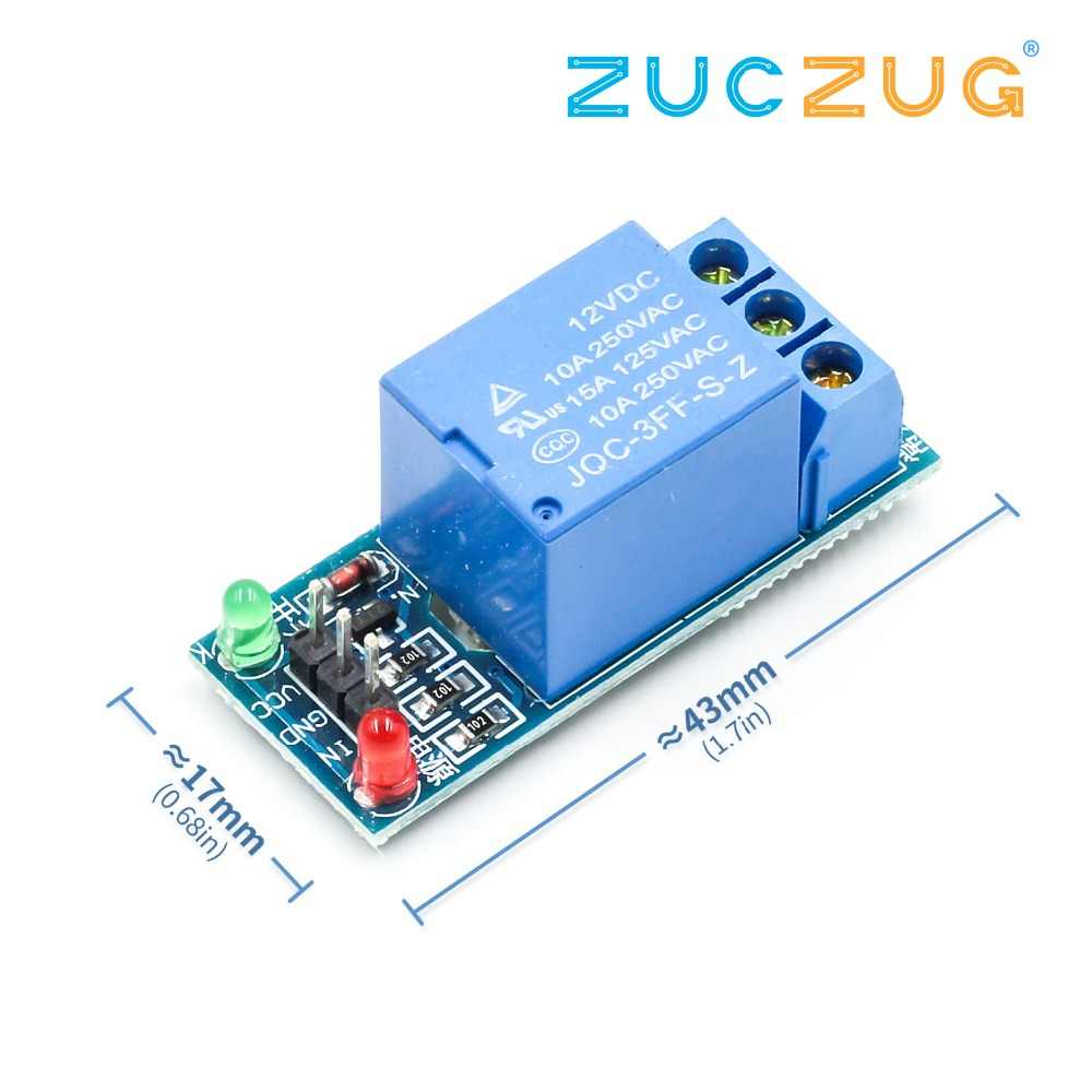 1-Channel Relay 1 road relay module 12v low level trigger relay expansion board have a single way 1 Channel Relay