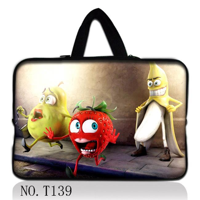 Cartoon Fruit Laptop Sleeve Tablet Case Notebook Protective Cover For 7 10 12 13 14 15.6 ...