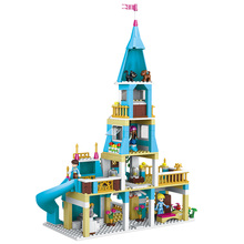 New LELE Technic Princess Anna And The Prince Castle Model Building Kits Happy Princess Series Blocks Toys for Children 561Pcs