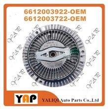 Embreagem do Ventilador do motor PARA CABER Ssangyong Rexton Korando Musso Turbo Esportes 6612003922 6612003722 2001-2006