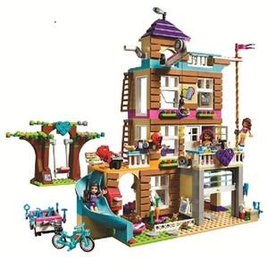 Image 5 - Amis série glace château ensemble éducatif bloc de construction briques ensemble jouets pour filles Compatible Lepining filles cadeau