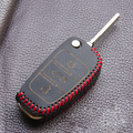 Handwork leather cover wallet pocket for Audi A4 B6 A3 A6 C5 Q7 A1 A5 A7 A8 Q5 R8 TT S5 S6 S7 S8 SQ5 flip key remote protector