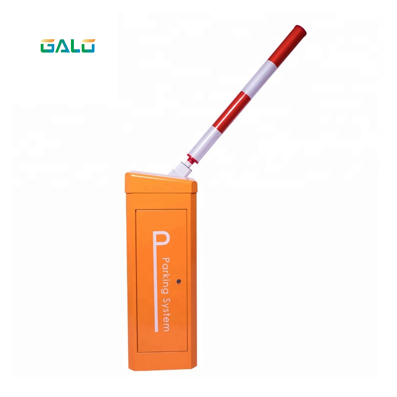 Solar Powered Vehicle Barrier Gate Boom Barrier For Parking Lot And Toll System