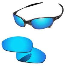e53100374 Policarbonato-gelo azul lentes de substituição para juliet óculos de sol  quadro 100% uva & uvb proteção