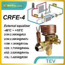 CRFE-4 R410a 2.82KW мощность охлаждения ТЭВ designed for a wide range of air curtain, напитков холодильник и морозильник приложений.