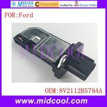 Новый Массового Расхода Воздуха Датчик использование OE No. 8V2112B579AA 8V21-12B579-AA 1516668 30757655 135089 38894 AFH70M83 LR019830 для Ford