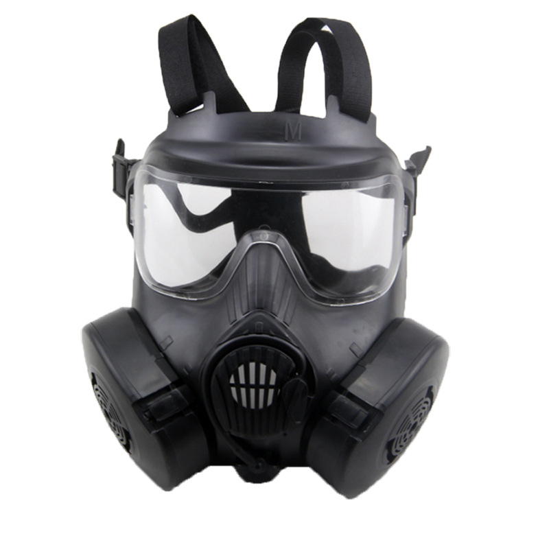 Respirator Military Tactical Gas Mask For Adult Shockproof CS Wargame Masks Outdoor Cycling Full Face Masks