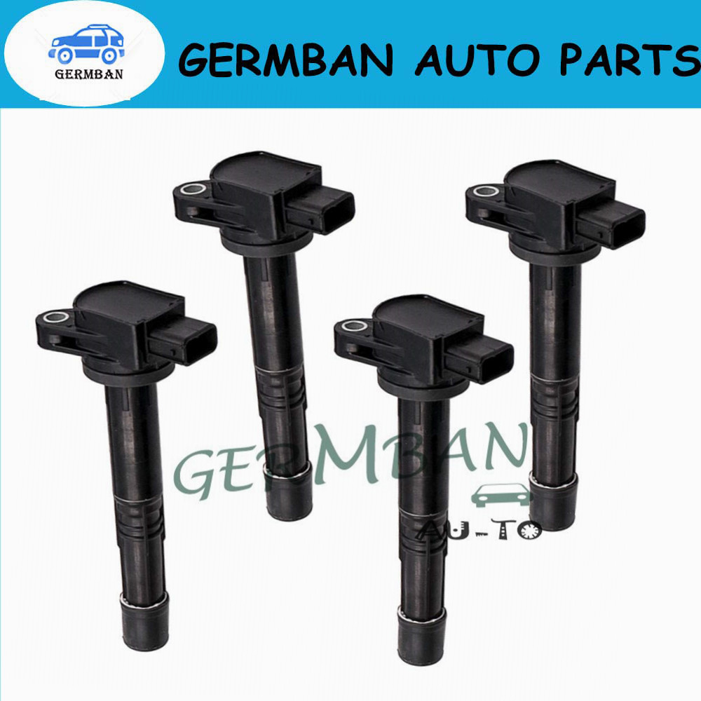 4PCS/LOT Ignition Coils for Honda Civic 099700-116 30520-RRA-007 Ignition Plug 2.0L 2006 2007 2008 2009 2010 2011