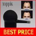 Toppik hair spray applicator hair building fibers pumps 10g,12g,25g,27.5g,30g black color, with brand box /pack in refill bag