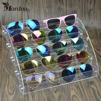 Clear Acrylic Makeup Organizer Storage Box 5 Layers Nail Polish Display Rack Lipstick Glasses Display Rack