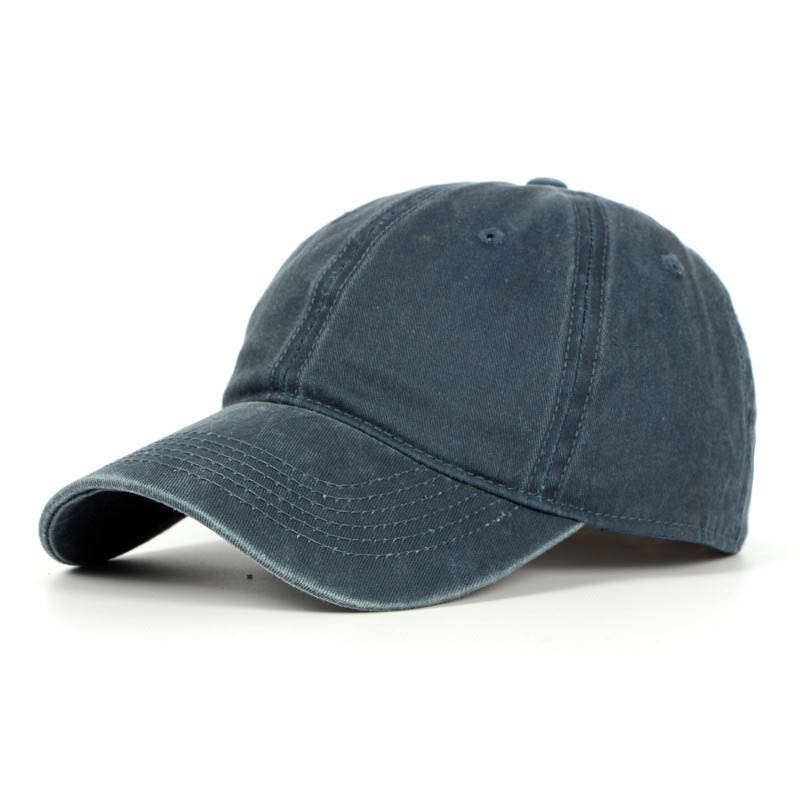 Fibonacci Fashion Washed Cotton Adjustable   Baseball     Cap   Unisex Solid Color Denim Men Women Hip Hop   Cap   Casual Snapback   cap
