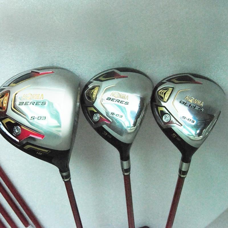 Cooyute nouveau femmes Golf clubs HONMA S-03 Golf bois set pilote 12 Loft + 3/5 fairway bois avec Graphite Golf arbre livraison gratuite