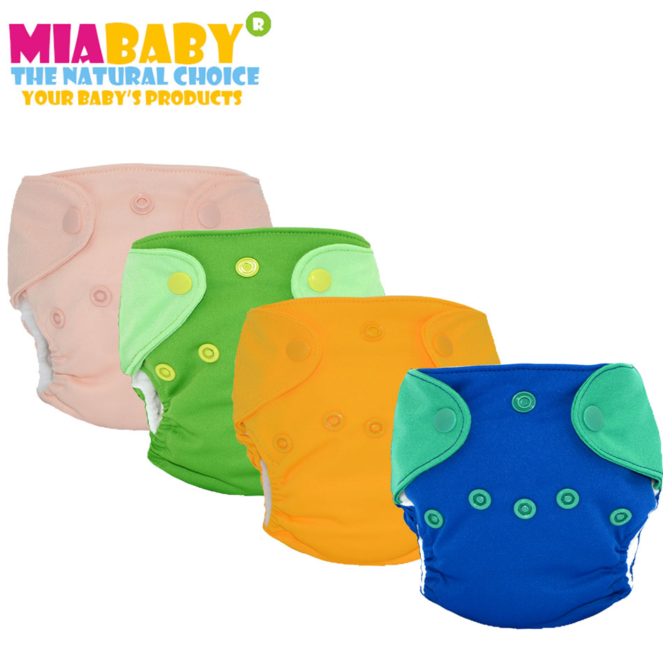 Miababy New Born AIO Baby Cloth Diaper