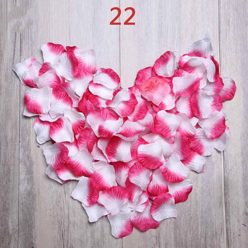Newest 5000pcs/lot Petalas Rose Petals Wedding Decorations Artificial Flowers Rose Rose Petals De Boda Petali Accessorie