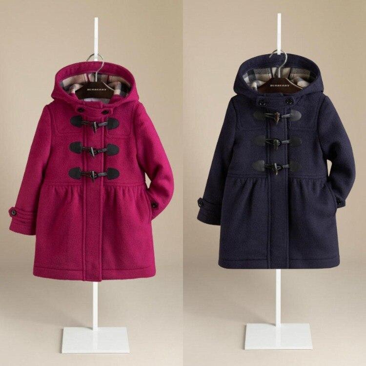 Red Duffle Coat Kids Coat Nj