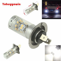 2pcs 6000K White H7 28 Sharp Chips 140W CAR LED Fog Light Lamp Bulb Driving Lamp