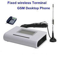 Home Fixed Gsm Phone Wireless Sim Card Terminal For Connect Desk Phone Or Pstn Alarm Panel