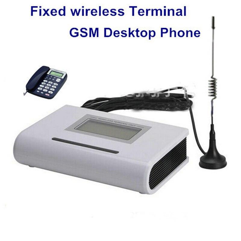 La maison Fixe Gsm Téléphone, Sans Fil Carte Sim Terminal pour Connecter Téléphone De Bureau ou Pstn Panneau D'alarme à Faire Appel
