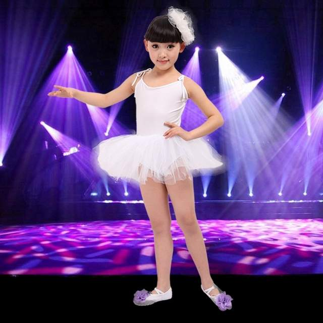 ca7c4bed46 Girl Kids Professional Tutu Gymnastics Leotard Children Standard Ballet  Dance Dress Cheap Disfraces Dancing Disfraz For