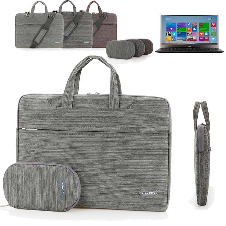 11.6'' 13.3'' 15.6'' Laptop Shoulder Bag, Suit Portable Carrying Case Messenger Sleeve Handbag for Dell XPS 11 13 15 Ultrabook