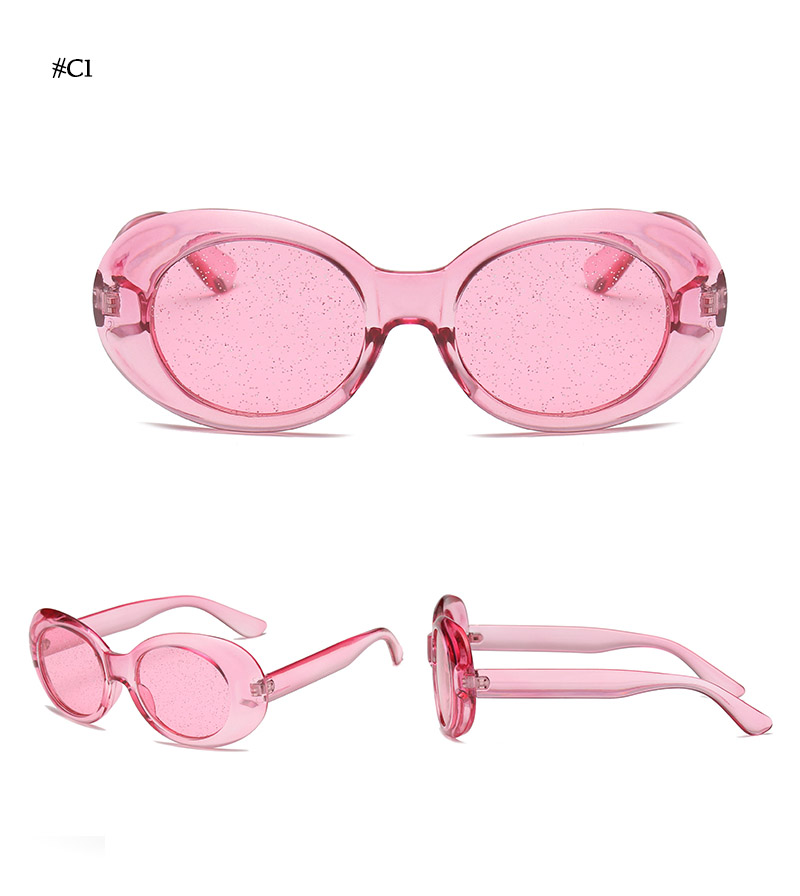 Oval Shape Sunglasses (20)