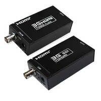 1080 P 3G HDMI zu SDI BNC Konverter + SDI zu HDMI Konverter HDMI SDI/BNC Extender Über einzigen 100 m/328ft Koaxialkabel