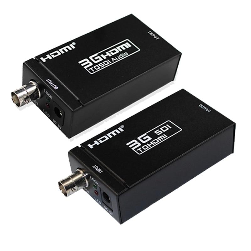 1080 p 3g HDMI VERS SDI BNC Convertisseur + IDS au Convertisseur HDMI HDMI SDI/BNC Extender Sur unique 100 m/328ft Câbles Coaxiaux