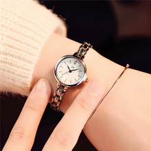 Luxury Crystal Rose Gold Watch Women Fashion Bracelet Quartz