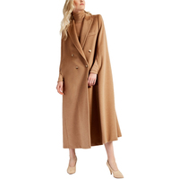 AEL Fashion Oversized Women Double Face Cloak Woolen Coat 2018 Hight Quality with Lengthen Thickening Keep Warm Winter Overcoat