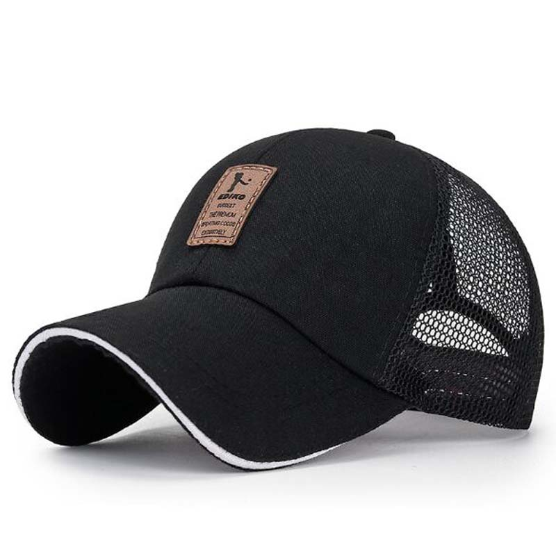 Europe America Breathable Contracted Men Baseball Caps Spring Summer Brand Snapback Canvas Adult Net Cap Beach Peaked Hat