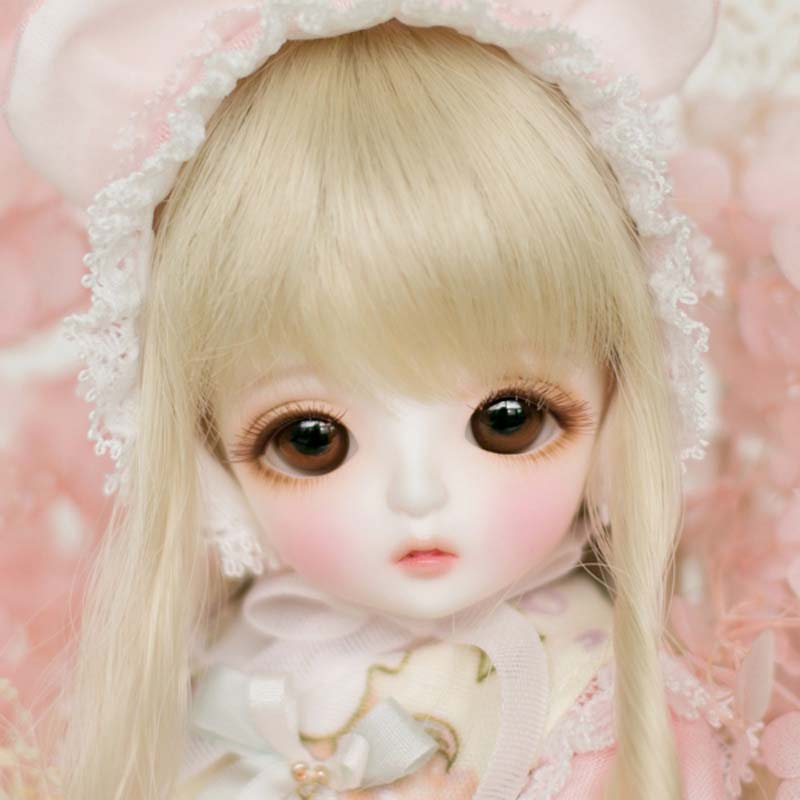 1/6 BJD Doll BJD/SD Cute Miu Joints Doll For Baby Girl Birthday Gift With Free Eyes Free Shipping 1 pcs doll camera for bjd doll diy 1 4 1 3 dod as dz sd doll accessory key chains toys sound gift free shipping
