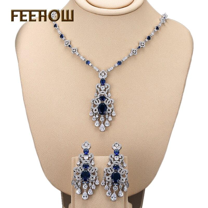 FEEROW 5 Color Luxury Platinum Plated AAA+ CZ Dimond Women s
