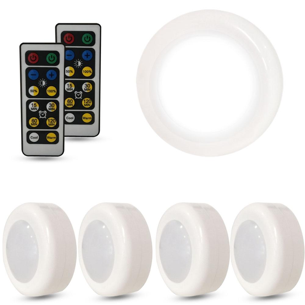 Wireless Dimmable LED Light Touch Sensor Under Cabinet Light LED Lighting Wardrobe/Closet Lights Kitchen Night Lamp with Under-cabinet lighting