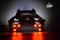 (1:10) TRAXXAS E REVO Roll cage+Wheelie bar+LED light+Lamp holder RC Cars HPI Racing