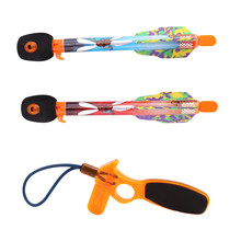 Kids Toys Boys Flying Arrow Rocket Sreaming Whistle Action Super Sky Missle Launchers Flying Kids Outdoor Toys For Girls Boys(China)