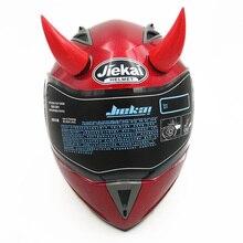 NEW Men's Motorcycle helmet Accessories Devil Horns Demon horn helmets