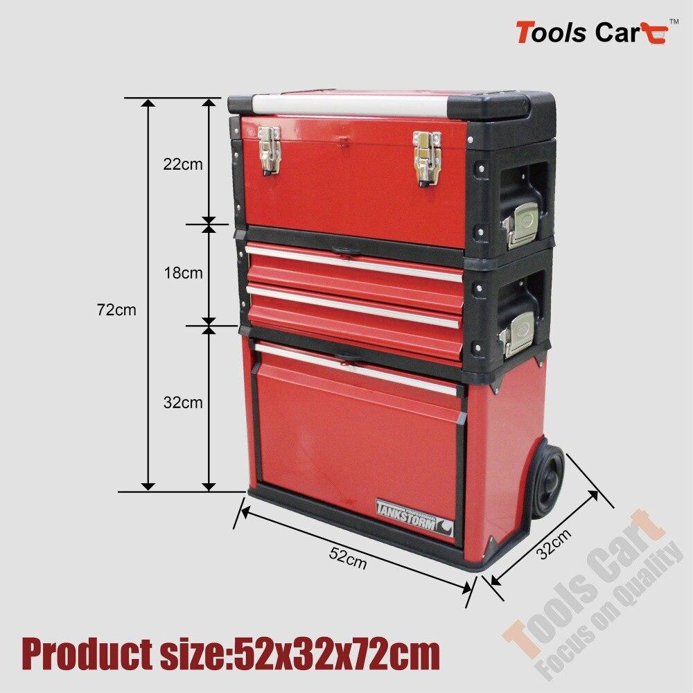 Toolbox brust werkstatt garagen trolley storage tool box wagen ...