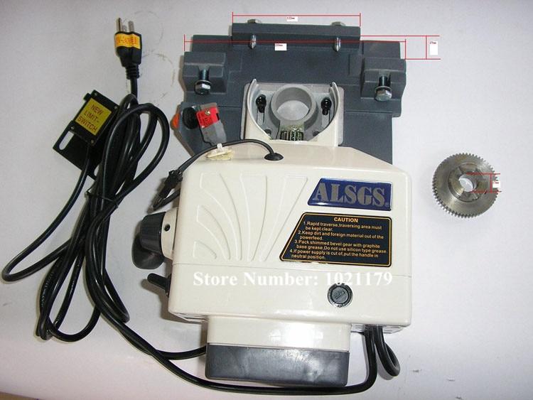 Freies Verschiffen ALSGS ALB-310SX 110 V/220 V 50/60 HZ Fräsmaschine Horizontale Feed 450 in-lb Horizontale Auto Power Feeder