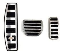 자동차 가속기 가스 발 받침대 랜드 레인지 로버 스포츠 디스커버리 용 수정 페달 패드 3 4 lr3 lr4 refit decorate accessory
