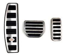 Reposapiés de acelerador de coche, almohadilla de Pedal modificada para Land Range Rover Sport Discovery 3 4 LR3 LR4, accesorio decorativo de reinstalación