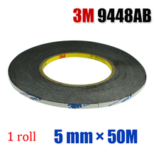 3M 9448AB  ADHESIVE STICKER GLUE DOUBLE SIDED TAPE 5mm FOR TOUCH SCREEN DIGITIZER
