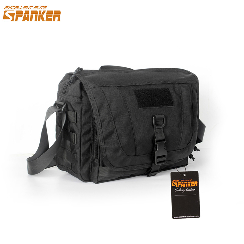 EXCELLENT ELITE SPANKER Waterproof Military Tactical Nylon Hunting Pouch Bag Multi function Outdoor Backpack Hiking Shoulder