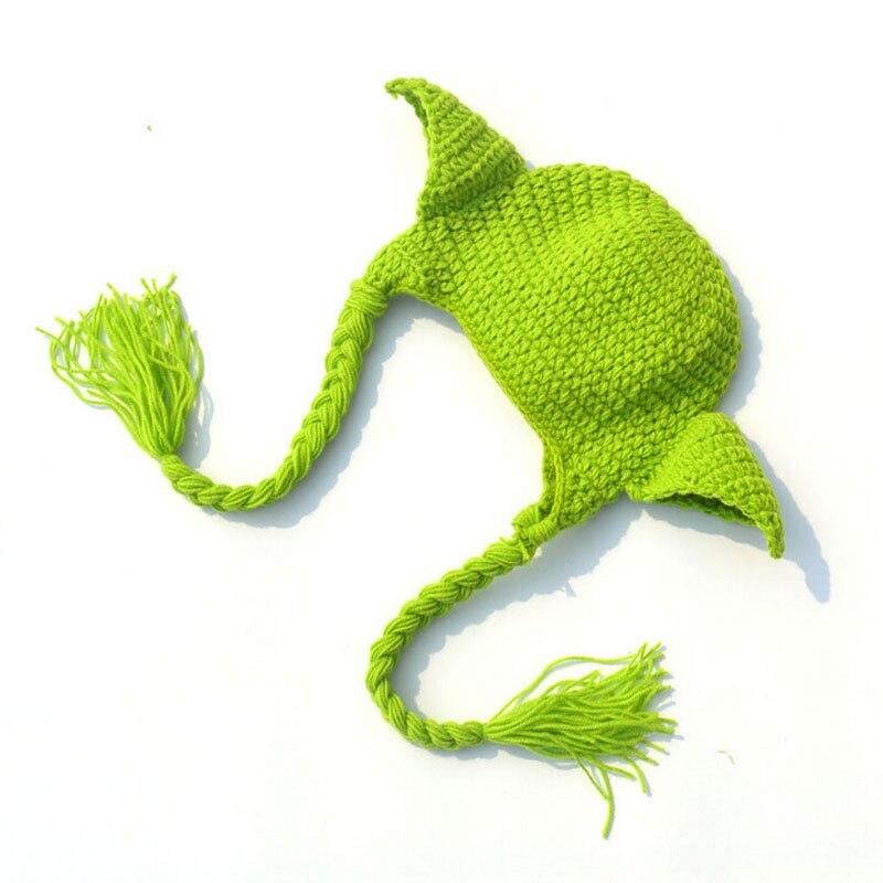 Star Wars Yoda traje crochet bebé recién nacido Yoda fotografía ...