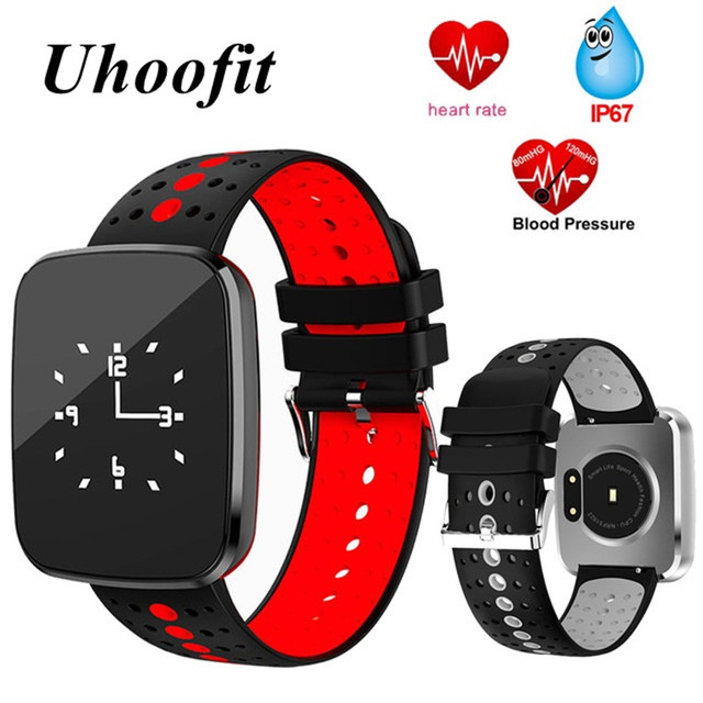 smart wristband heart rate sports activity sleep tracker fitness bracelet smartband blood pressure weather forecast sport watch