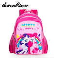 My Little Pony Cartoon School Bag For Baby Teenager Girls Children's Cute Backpack Child Mochila