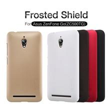 for Asus ZenFone Go ZC500TG Case NILLKIN Super Frosted Shield Plastic Hard Case for Asus ZenFone Go ZC500TG Phone Back Cover все цены