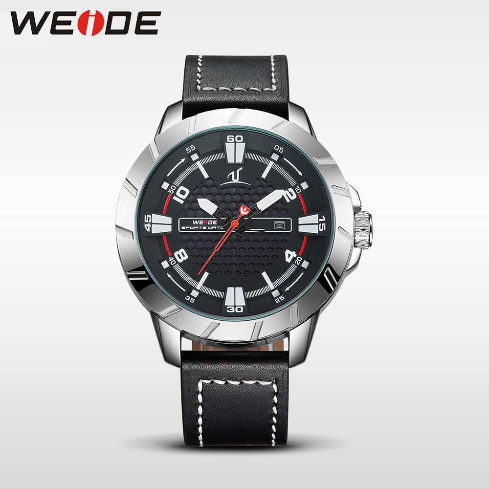 WEIDE men's watches the best luxury brand watch quartz men sports watches army military black clock men wrist watch box Schocker weide 2017 new men quartz casual watch army military sports watch waterproof back light alarm men watches alarm clock berloques
